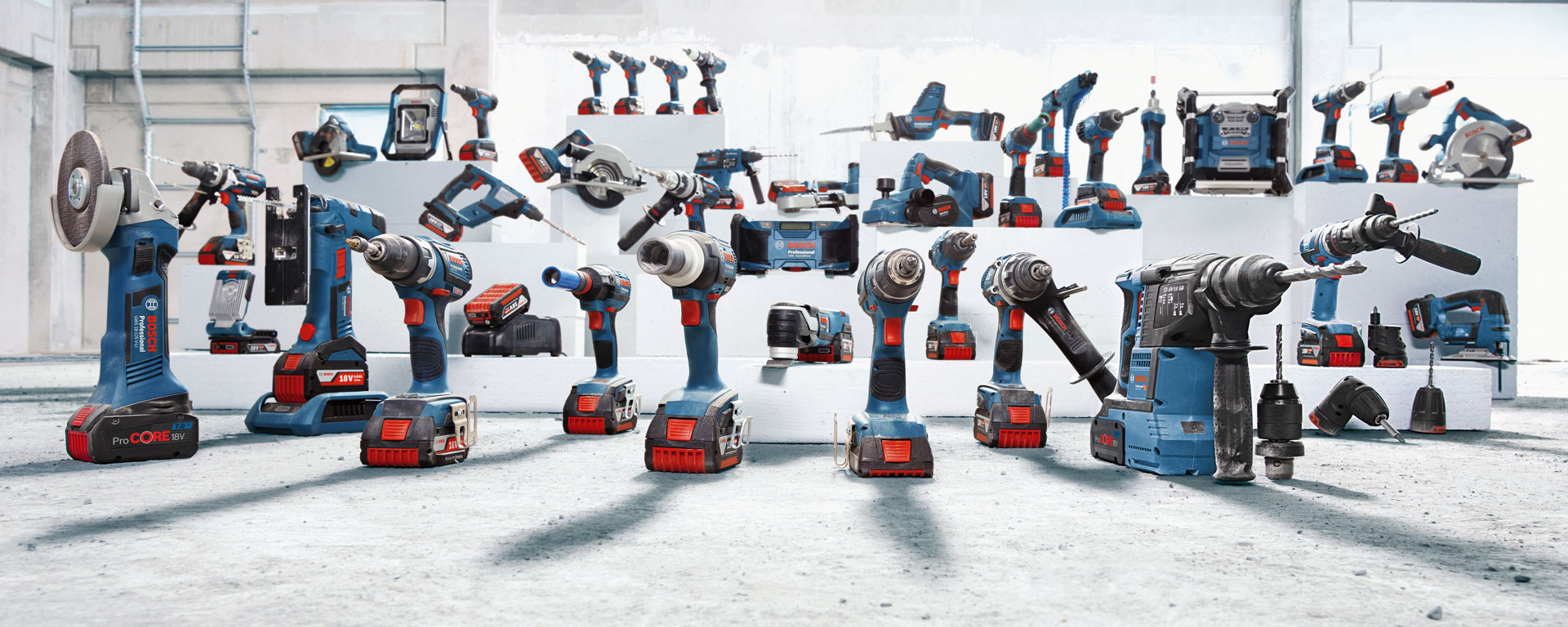 Bosch cordless technology